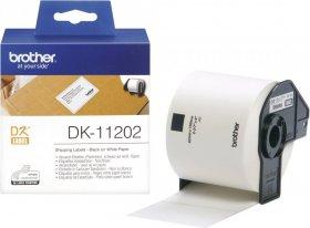 Etykiety papierowe do drukarki Brother DK11202, 62x100mm, biały