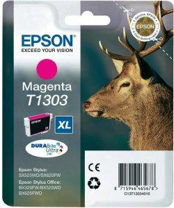 Tusz Epson T1303 (C13T13034010), 765 stron, magenta (purpurowy)