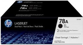 Toner HP 78A (CE278AD), 2 sztuki, 2x2100 stron, black (czarny)