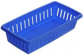 Koszyk ażurowy Curver K-1, 190x100x50mm, niebieski