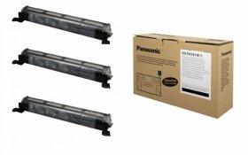 Toner Panasonic (KX-FAT411E-T), 3 sztuki, 3x2000 stron, black (czarny)