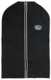 Pokrowiec na odzież, 60x100cm, czarny