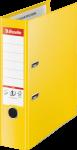 Segregator Esselte No.1 Vivida Plus, A4, szerokość grzbietu 80mm, do 600 kartek, żółty