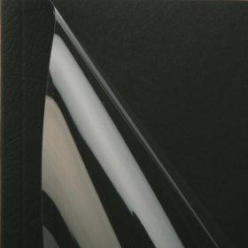 Okładki do termobindowania Opus Office, A4, 4mm, do 40 kartek, 25 sztuk, czarny