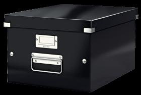Pudło archiwizacyjne Leitz Click&Store, A4, czarny