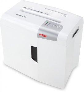Niszczarka HSM Shredstar X5 ścinek 4.5x30mm, 5 kartek, P-4/O-1/T-2/E-2/F-1 DIN, biały