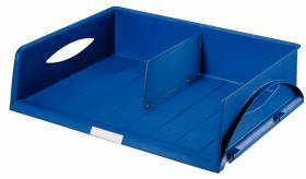 Półka na dokumenty Leitz Jumbo, A3, otwarta po dłuższym boku, niebieska
