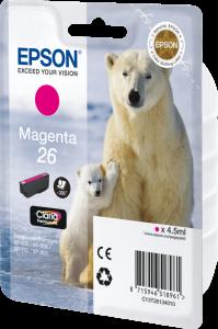 Tusz Epson T2633 (C13T26334012), magenta (purpurowy)