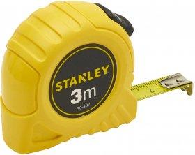 Miara zwijana Stanley, z blokadą, 3m, żółty
