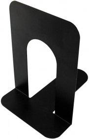 Podpórki do książek Deli, metalowy, 2 sztuki, czarny