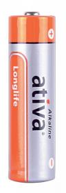 Bateria alkaliczna Ativa Longlife, AA, 6 sztuk