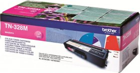 Toner Brother (TN328M), 6000 stron, magenta (purpurowy)