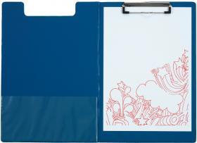 Podkład do pisania Office Depot z okładką, A4, niebieski
