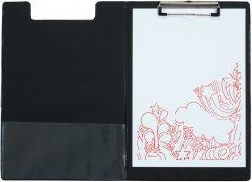 Podkład do pisania Office Depot z okładką, A4, czarny