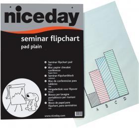 Blok do flipchartów Niceday, 65x98cm, gładki, 20 kart