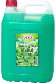Mydło w płynie Poezja, antybakteryjne, zielone jabłuszko, zapas, 5l (c)