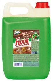 Płyn do mycia podłóg drewnianych Floor z olejkiem Gold Drop, 5l, leśny