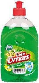 Płyn do naczyń Gold Cytrus Gold Drop, cytrynowy, 500ml