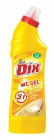 Żel do czyszczenia WC Gold Drop Dix, cytrynowy, 0.75l