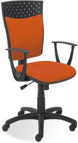 Krzesło obrotowe Nowy Styl Stillo 10, profil GTP, pomarańczowy