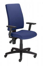 Krzesło obrotowe Nowy Styl Metron R EF010, z mechanizmem Ergon, granatowy