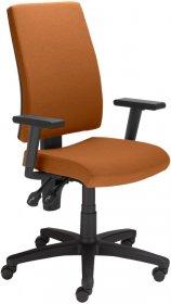 Krzesło obrotowe Nowy Styl Metron R EF808, z mechanizmem Ergon, pomarańczowy