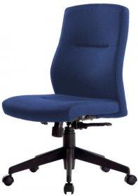 Krzesło obrotowe Realspace To-Go Stanley, bez podłokietników, niebieski