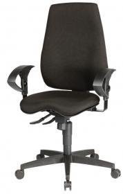 Krzesło obrotowe Realspace Pro Eiger Synchro, czarny