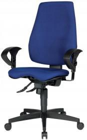 Krzesło obrotowe Realspace Pro Eiger Synchro, niebieski