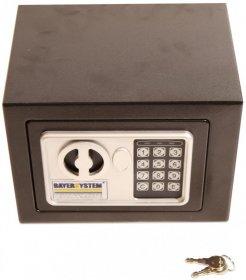 Sejf elektroniczny Bayersystem, Interbox Digital, 17x23x17cm
