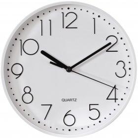 Zegar ścienny Hama PG-220, 22cm, tarcza kolor biały, obudowa kolor biały