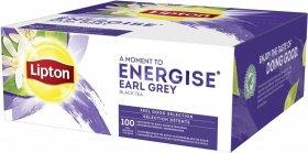 Herbata Earl Grey w kopertach Lipton, czarna, 100 sztuk x 2g