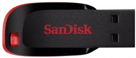 Pendrive SanDisk, Cruzer Blade, 16 GB, USB 2.0, czarny