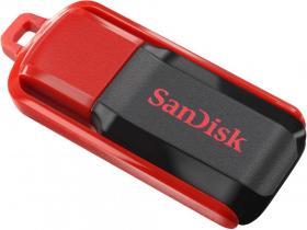 Pendrive SanDisk Cruzer Switch, 32GB, USB 2.0, czerwono-czarny