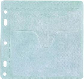 Koperta z oknem na CD/DVD Q-Connect, 40 sztuk, biały
