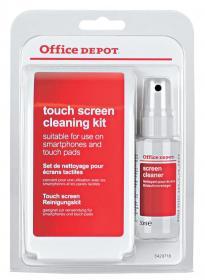 Zestaw czyszczący do ekranu Office Depot, płyn + chusteczka