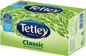 Herbata zielona w torebkach Tetley Classic, 25 sztuk x 1.6g