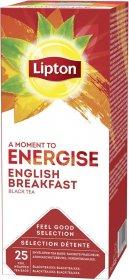 Herbata czarna w kopertach Lipton English Breakfast, 25 sztuk x 2g