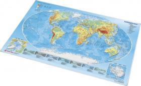 Podkład na biurko Panta Plast, Mapa Świata, 59x41.7cm