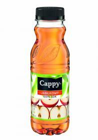 Sok jabłkowy 100% Cappy, butelka PET, 0.33l