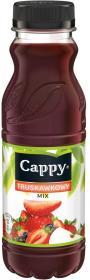 Sok truskawkowy Cappy, butelka, 330ml