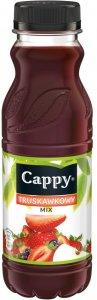 Napój niegazowany Cappy, truskawkowy, butelka PET, 0.33l