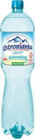 Woda niegazowana Ustronianka, niskosodowa, 1.5l