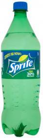 Napój gazowany Sprite, butelka, 1l
