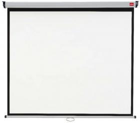 Ekran projekcyjny Nobo, 175x132.5 cm, biały