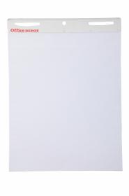 Blok do flipchartów samoprzylepny Office Depot, 63.5x78cm, gładki, 30 kart
