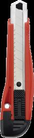 Nożyk z wymiennym ostrzem Office Depot, 18mm, czerwony