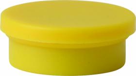 Magnesy Niceday, 20mm, 10 sztuk, żółty