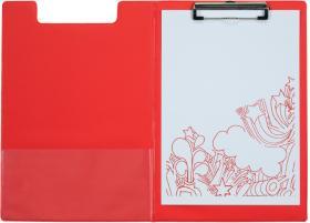 Podkład do pisania Office Depot z okładką, A4, czerwony