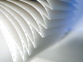Papier do drukarki igłowej Emerson 150mm 1+0